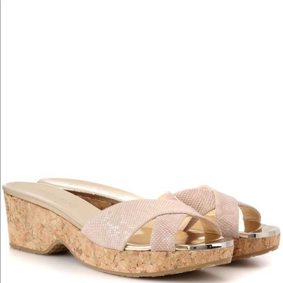 Jimmy choo Panna leather slip-on sandals wOnD0NL5